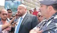 نهرا من اعتصام أصحاب الباصات بطرابلس:سنتخذ اجراءات للحد من مخالفة القوانين