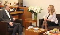 جعجع استقبل السفيرة السويسرية الجديد والسفير الهندي
