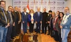 دبوسي عرض مع لجنة متابعة مشاريع طرابلس مشاريع إنمائية وعمرانية