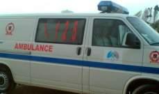 الدفاع المدني: جريحان بحادث سير بين سيارة ودراجة نارية في مستيتا- جبيل