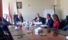 جريصاتي: لتطوير المعالجة للنفايات الطبية في مستشفى الجامعة الاميركي