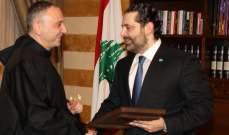رئيس الجامعة الأنطونية التقى الحريري: نتمنى أن ينعكس تشكيل الحكومة خيرا على لبنان