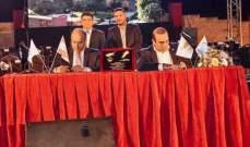 توقيع اتفاقية توأمة بين بلدية جبيل وبلدية ايانابا القبرصية
