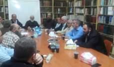 """النشرة: مطالبة فلسطينية باعادة هيكلة """"القوة المشتركة"""" تنظيما وإدارة وتفعيل دورها في حفظ الامن"""