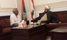 حبلي التقى سعد: لضرورة أن تتمثل صيدا في الحكومة