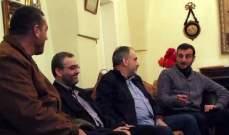 وفد من حزب الله قام بزيارات تهنئة بمناسبة الأعياد على الفعاليات المسيحية باقليم التفاح