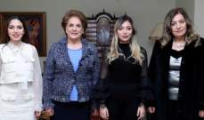 السيدة ناديا عون: دور الجمعيات الاهلية أساسي في توطيد القيم الانسانية