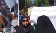 أهالي الموقوفين الاسلاميين قطعوا الطريق أمام سراي طرابلس