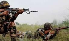 القوات الهندية قتلت ستة مسلحين في كشمير خلال تبادل إطلاق نار