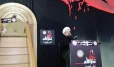 احمد قبلان: لن نقبل بسلطة فاسدة ولا بمشاريع محتكرة ولا بسجون تغص بالفقراء
