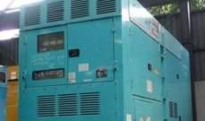 مصادرة مولد كهربائي في الليلكي لمخالفته قرار الوزارة بتركيب العدادات