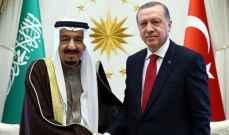 الملك سلمان هنأ أردوغان بفوزه في الإنتخابات وتمنى له التوفيق والتقدم