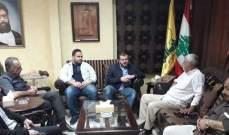 الشيخ ضاهر التقى وفدا من الجبهة الشعبية لتحرير فلسطين بصيدا