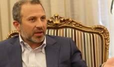 باسيل من موسكو: مع العودة السريعة والآمنة للنازحين من دون ربط ذلك بحل سياسي