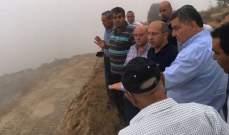 آلان عون من كفرسلوان: نرفض أي عملية حفر أو تشويه بيئي في الجبل