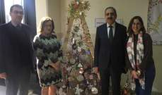 فؤاد أيوب يزور كليات الفروع الثانية في الجامعة اللبنانية بمناسبة الأعياد