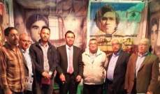 وفد من المرابطون زار جناح الأسير يحيى سكاف في معرض الكتاب في طرابلس