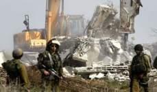 القوات الإسرائيلية هدمت منزل أسير فلسطيني في جنين شمالي الضفة الغربية