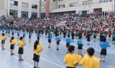 روكز شارك في المهرجانالرياضي السنوي للمدرسةالانطونية الدولية