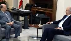 مخزومي زار الرئيس عون: لتضامن حكومي والعمل على خريطة طريق واضحة لملف النازحين