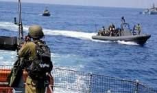 الجيش: زورقان اسرائيليان خرقا المياه الإقليمية اللبنانية