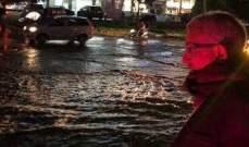 سعد تابع مع فنيانوس مسألة السيول في حي القناية في صيدا