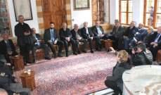 تيمور جنبلاط التقى وفودا مناطقية: لتشكيل حكومة بأسرع وقت فالبلد والشعب لا يحتملان أكثر