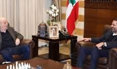 أبو فاعور: لقاء الحريري-جنبلاط فتح صفحة جديدة بالعلاقة والحوار مع النظام السوري وهم