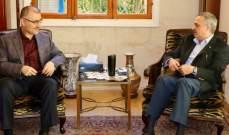 ارسلان بحث مع وفد من قيادة حزب الله المستجدات السياسية محلياً وإقليمياً