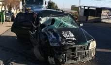 النشرة: سقوط جرحى بحادثي سير على طريق اللبوة