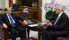 هذا ما حمله معاون بري للرئيس عون: معنيون بمصلحة لبنان لا اسرائيل