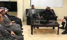 المرعبي:ممتنون لدعم السعودية والإمارات المتواصل للبنان وللنازحين السوريين