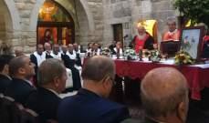 رشميا احتفلت بعيد مار يوحنا المعمدان في أول دير ماروني
