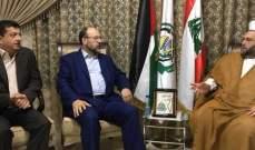 بركة بحث مع الشيخ جبري تطورات القضية الفلسطينية وتداعيات قرار وقف تمويل الأونروا