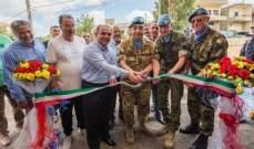 اليونيفيل الإيطالية تدشنّ محطة لتكرير المياه في بلدة الطيري