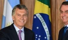 """رئيسا الارجنتين والبرازيل ينتقدان """"الدكتاتورية"""" في فنزويلا"""
