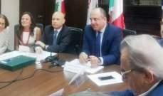 """بو عاصي وقع اتفاق تمديد مشروع """"موزاييك"""": إحترام الإنسان وكرامته وحياته خط أحمر"""