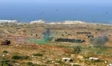الجيش نفّذ مناورة قتالية بالذخيرة الحية في حقل رماية حنوش- حامات