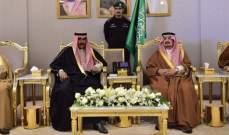 وليا العهد في الكويت ودبي وصلا إلى الرياض