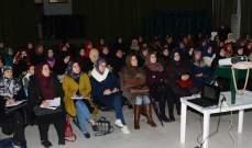 ورشة عمل لشؤون المرأة بحركة امل في دائرة صور حول الإنتخابات
