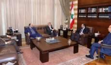"""الحريري عرض الوضع الفلسطيني مع وفد من حركة """"حماس"""""""