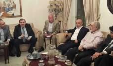 النشرة: إعلان التحالف بين الوطني الحر والجماعة الاسلامية والبزري بدائرة صيدا جزين