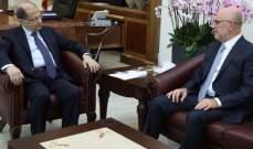 """الرئيس عون يستقبل فنيانوس ممثلاً رئيس تيار """"المردة"""""""