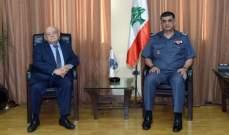 """عثمان استقبل رئيس الـUNTSO وأبي نصر والخازن ورئيسة """"كفى"""" ووفدا من عكار"""