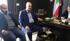 بزي التقى في بنت جبيل وفودا شعبية وتربوية ووعد بمتابعة المواضيع المُثارة