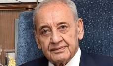 بري: زيارة ساترفيلد الأخيرة جاءت لتحريض اللبنانيين على بعضهم البعض