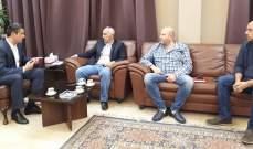 محافظ البقاع تابع التحضير للإنتخابات مع مسؤولين بالدفاع المدني والصليب الأحمر