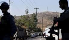 مقتل جنديين إسرائيليين وإصابة اثنين آخرين بعملية طعن وإطلاق نار بالضفة الغربية