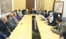 وفدان من الاتحاد الأوروبي وكلية الزراعة زارا بلدية بعلبك