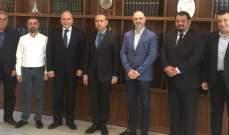 رئيس بلدية جبيل-بيبلوس التقى السفير المصري